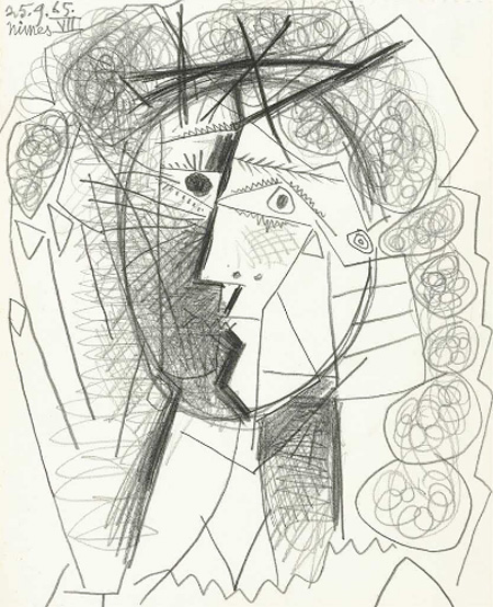 450x554 Man Steals Picasso Drawing From Gallery And Escapes In A Cab
