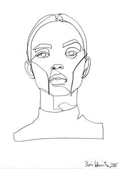 236x333 Pablo Picasso, Line Drawing Of Francoise Gilot, Unknown Year
