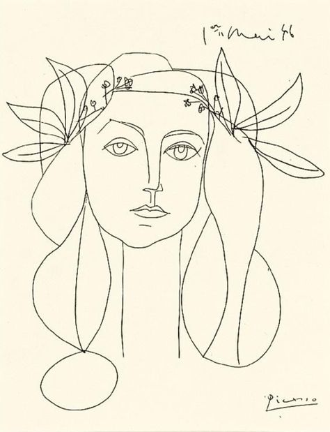 474x619 Pablo Picasso Picasso, Drawings And Tattoo