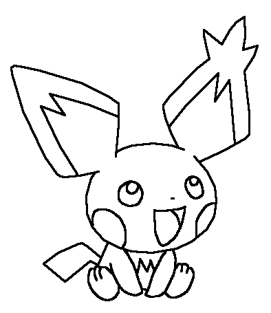 Pichu Drawing at GetDrawings | Free download