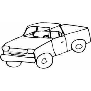 300x300 Pickup Truck Coloring Book Semi Truck Coloring Pages