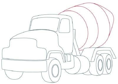 400x285 Steps To Draw A Pickup Truck Tags Steps To Draw A Truck Easy