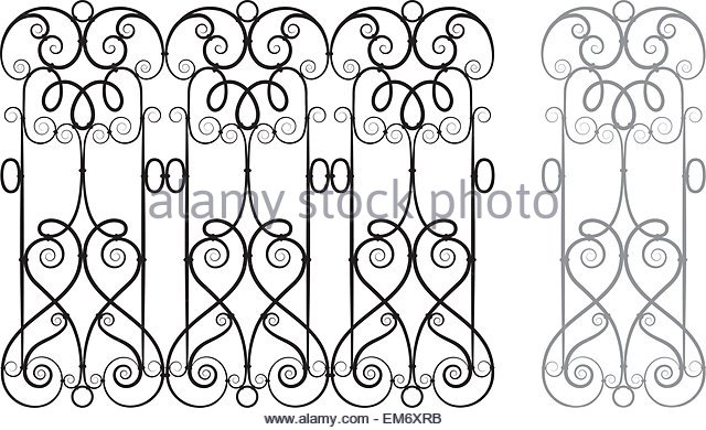 640x390 Fence Cut Out Stock Photos Amp Fence Cut Out Stock Images