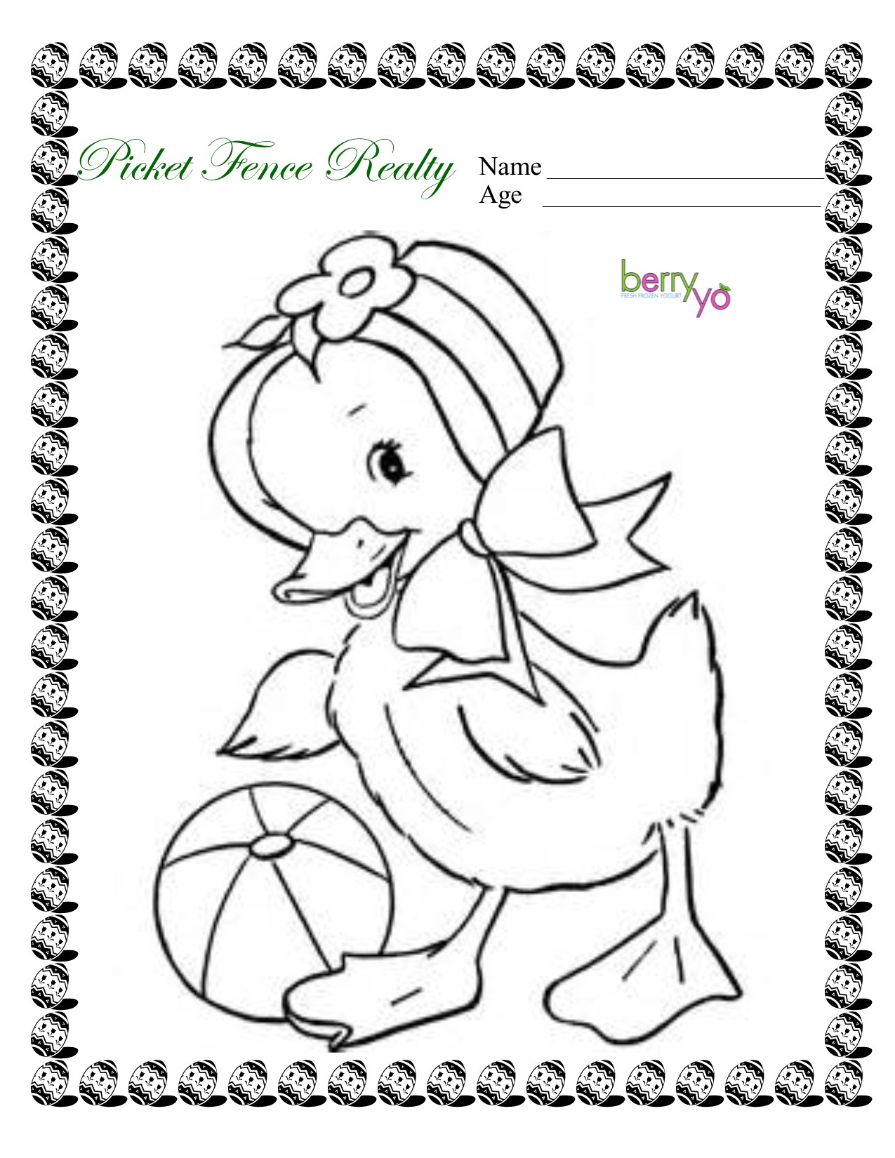 1275x1650 2017 Easter Coloring Contest