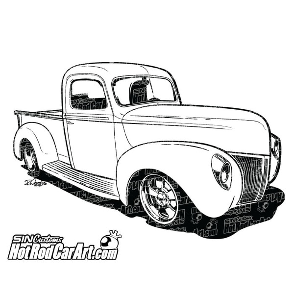 The Best Free Pickup Drawing Images Download From 302 Free Drawings