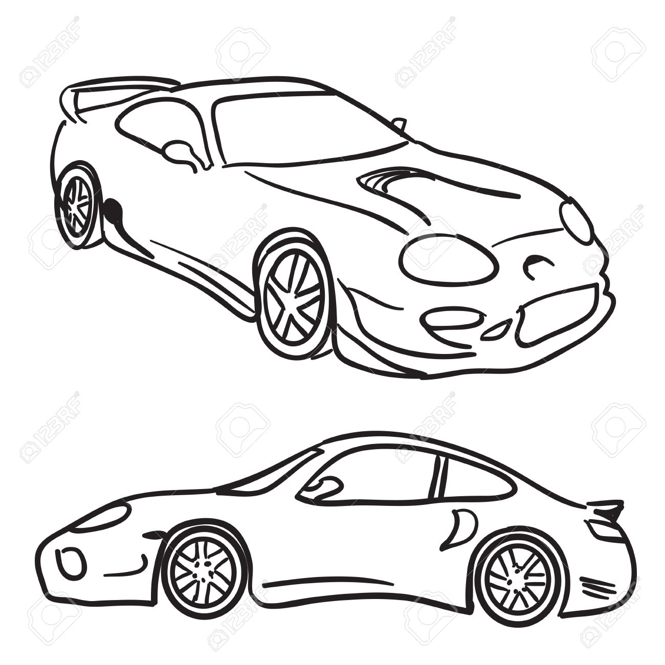 1300x1300 Vehicle Clipart Drawing