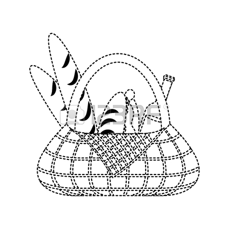 450x450 Picnic Basket Vector Images Amp Stock Pictures. Royalty Free Picnic