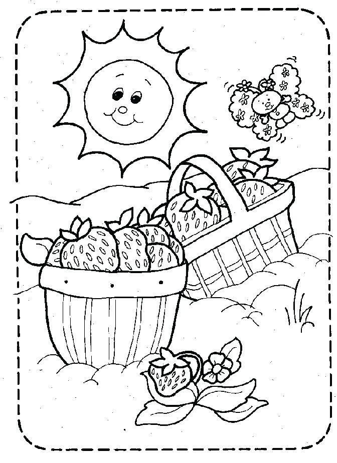 672x924 Picnic Coloring Page Picnic Coloring Page Printable Picnic Basket