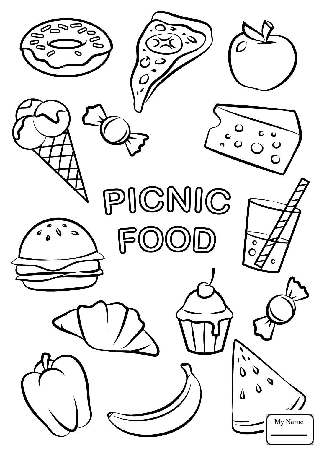 Picnic Blanket Drawing at GetDrawings.com | Free for personal use ...