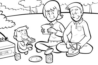 333x222 The Great Outdoors Series Picnic