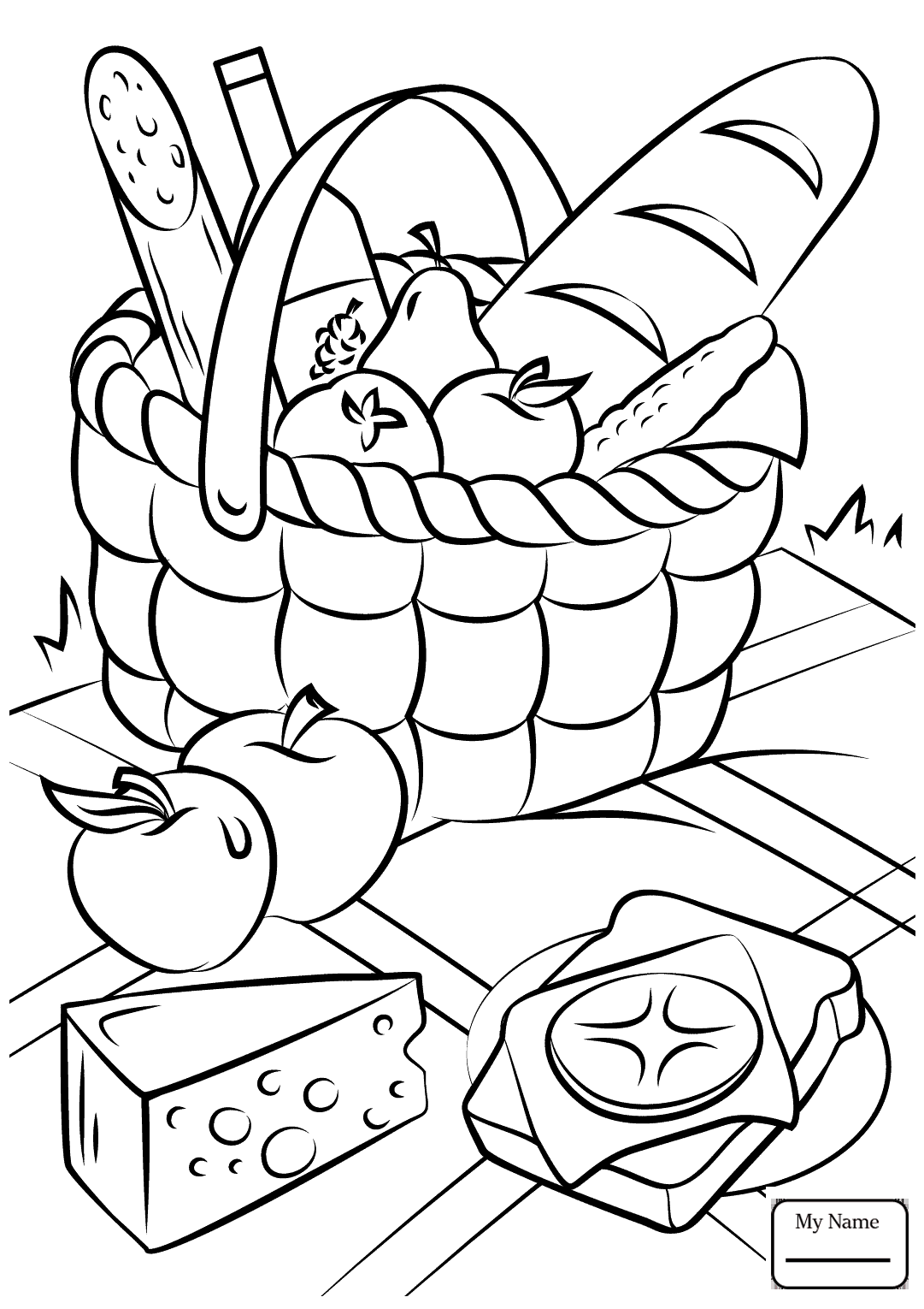 1081x1530 Activities Picnic Picnic Blanket Picnic Coloring Pages For Kids