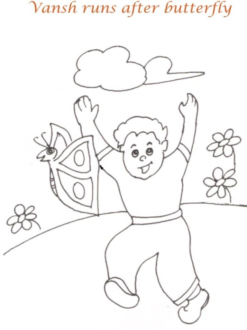786x1050 Picnic Drawing For Kids Download Picnic Day Coloring Page For Kids