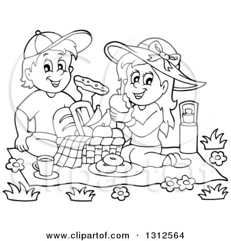 450x470 Royalty Free Picnic Illustrations By Visekart Page 1