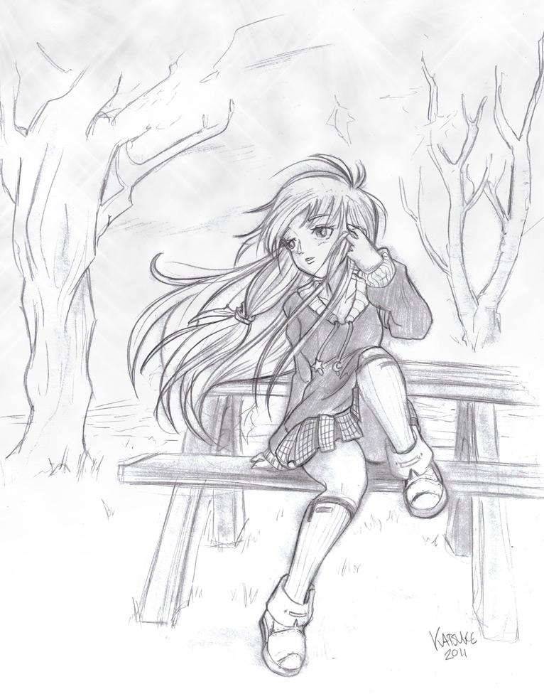 766x976 Yukino's Picnic Table By Hythrain