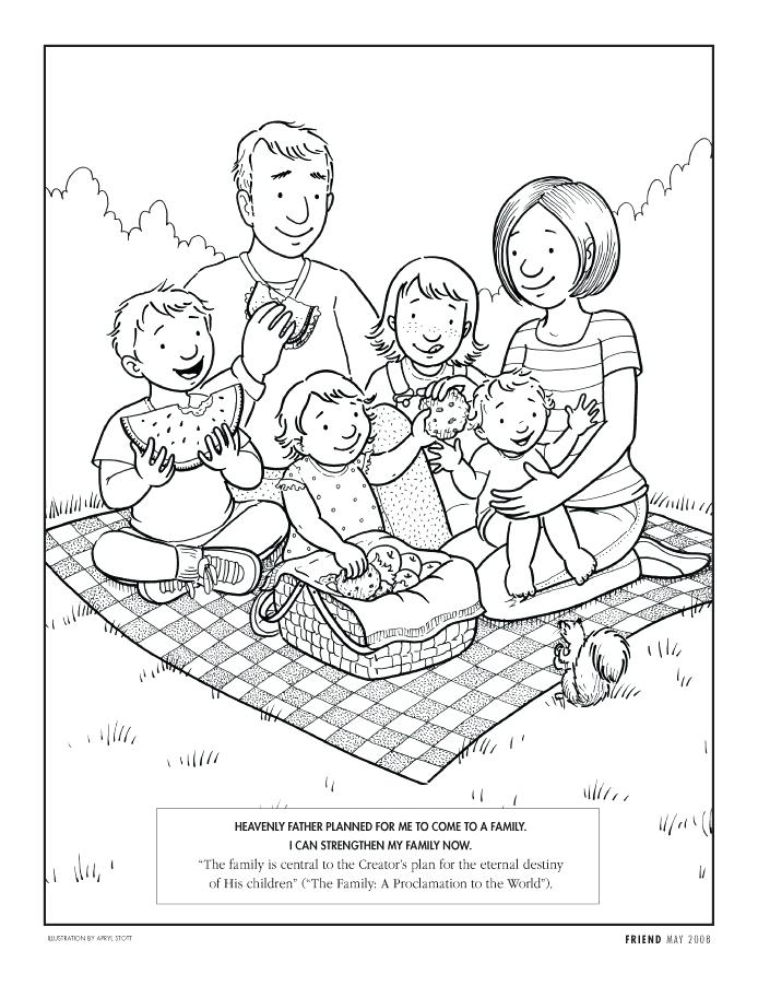 694x902 Entertaining Picnic Coloring Pages New