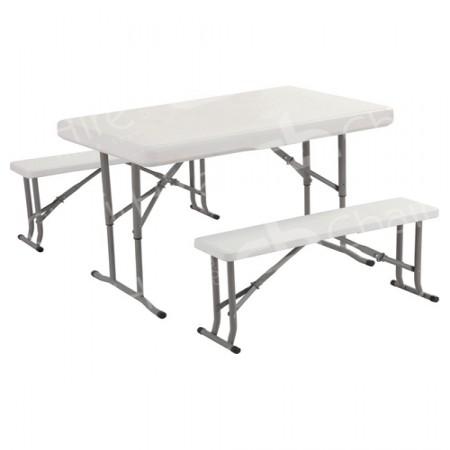 450x450 White Picnic Table Hire