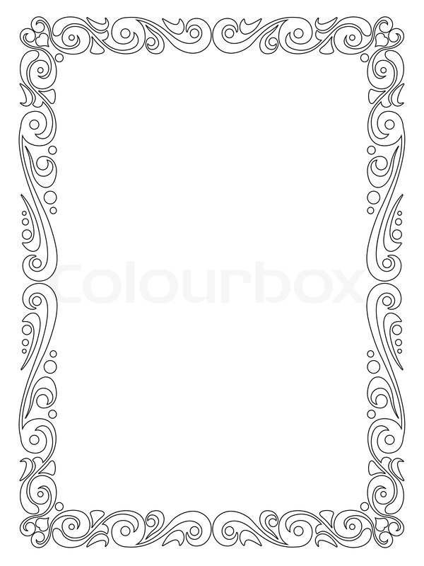 Picture Frame Drawing at GetDrawings.com | Free for personal use ...