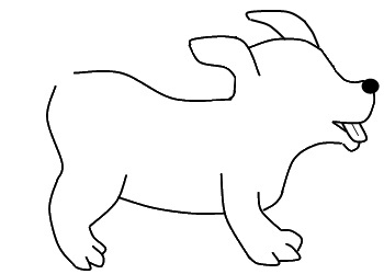 Picture Of Dog Drawing at GetDrawings com | Free for