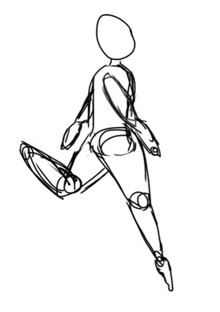 320x455 I'M Working On More Energetic Poses Because I Usually Just Draw