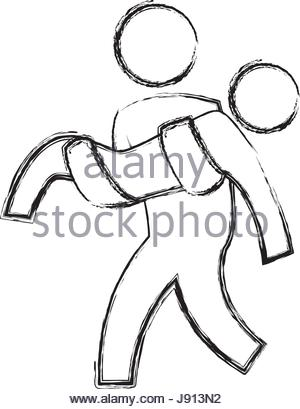 300x409 Person Helping Someone Stock Vector Art Amp Illustration, Vector