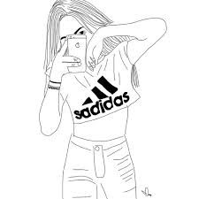 225x225 Image Result For Tumblr Girl Drawing Drawings