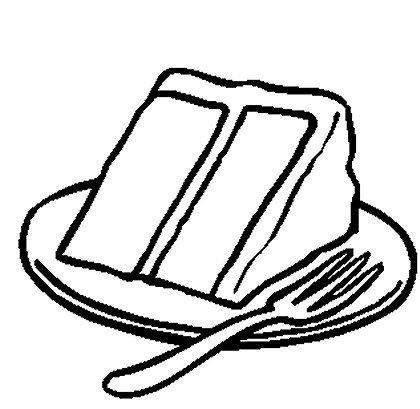 420x409 Cake Slice Drawing Cupcake Drawing