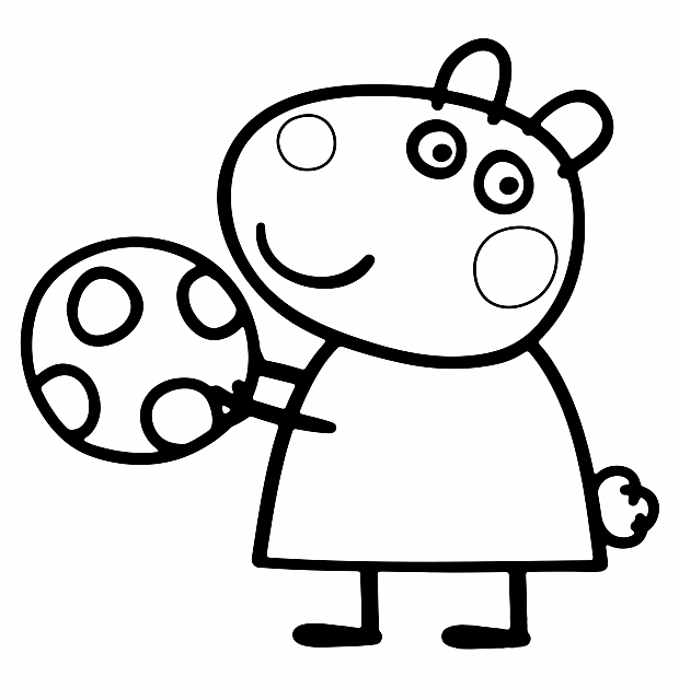 620x640 Peppa Pig