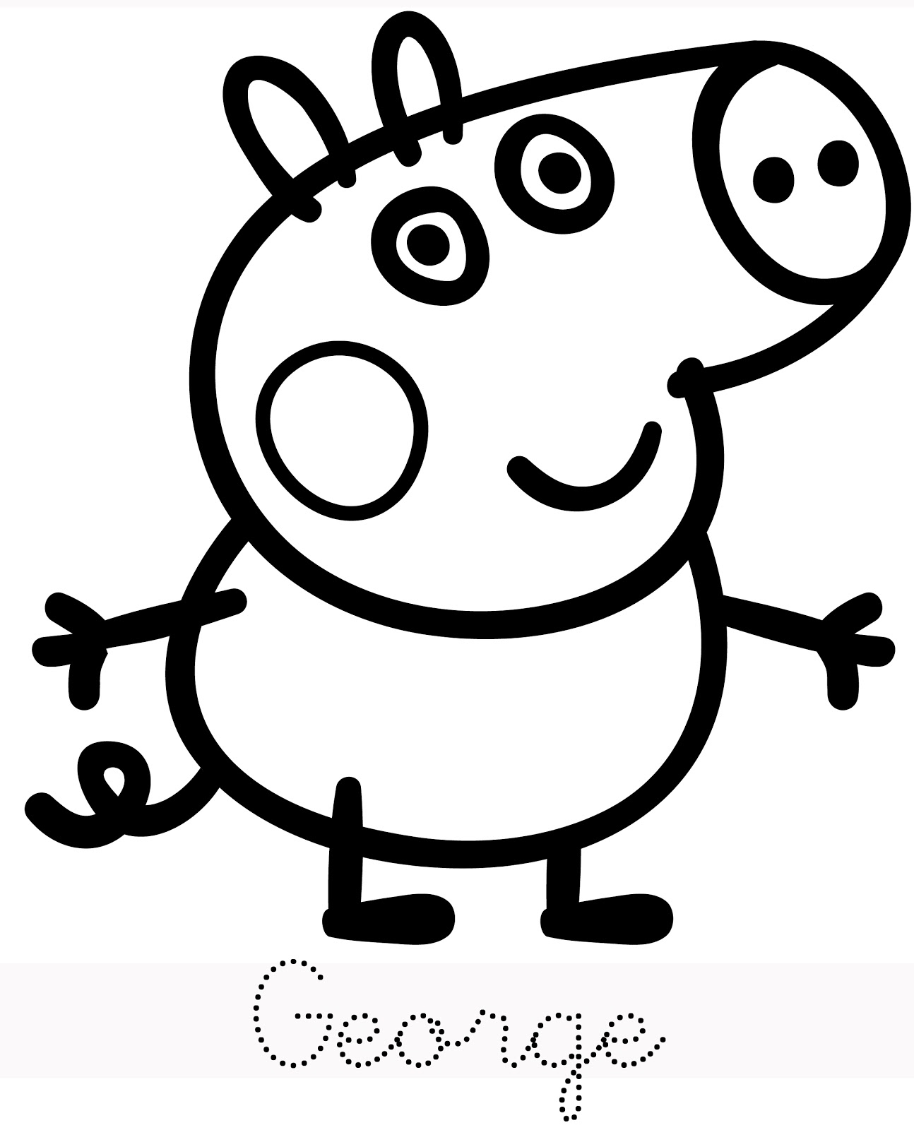 Pig Cartoon Drawing at GetDrawings.com | Free for personal use Pig ...