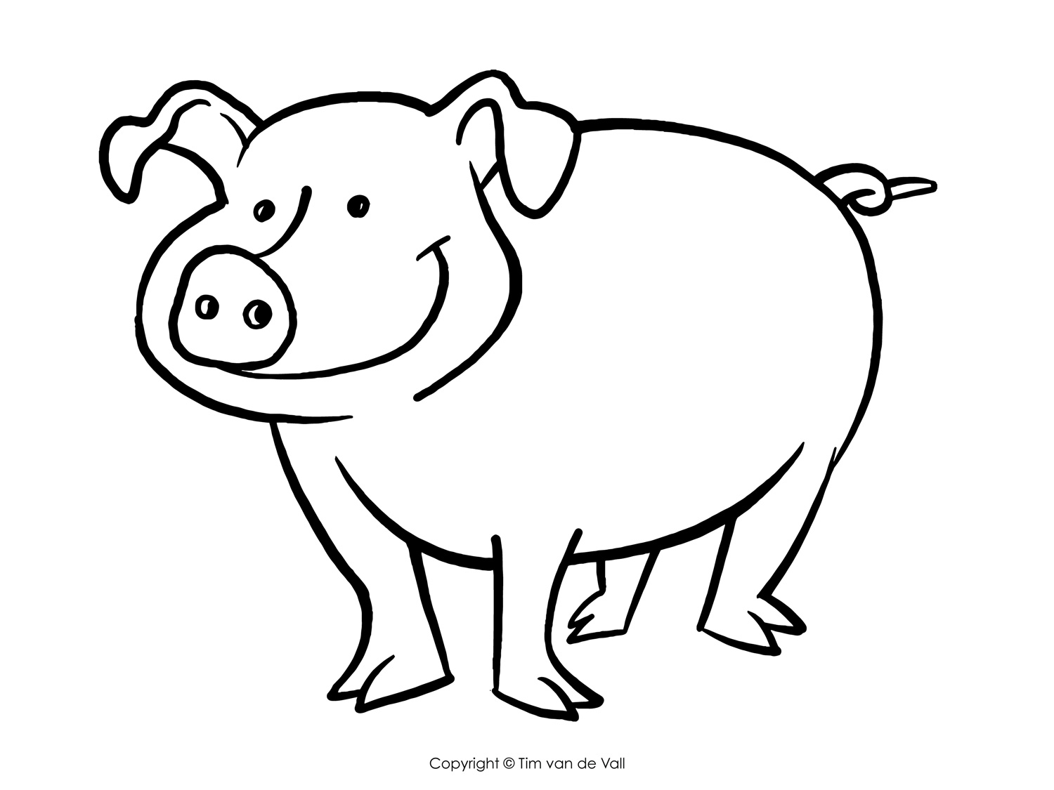 1500x1125 Three Little Pigs Coloring Pages The Three Little Pigs Story
