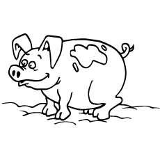 230x230 Top 20 Free Printable Pig Coloring Pages Online