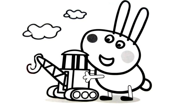 650x366 Peppa Pig Coloring Pages To Color Nice Coloring Pages For Kids
