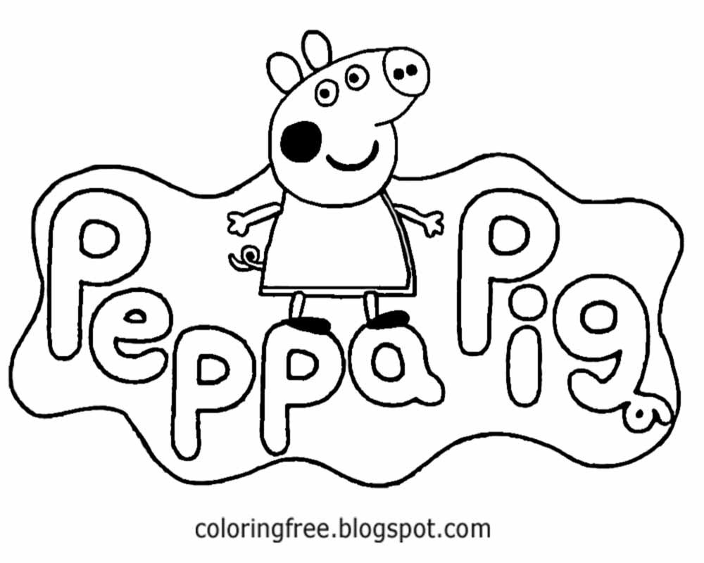 Pig Drawing For Kids At GetDrawings.com