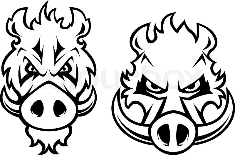 800x528 19 Boar Tattoo Designs, Samples And Ideas