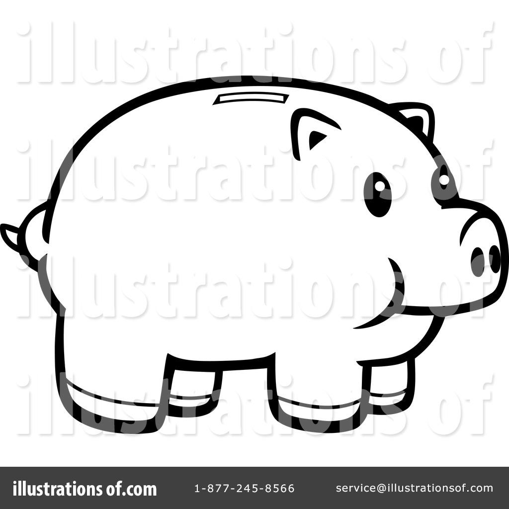 1024x1024 Piggy Bank Clipart