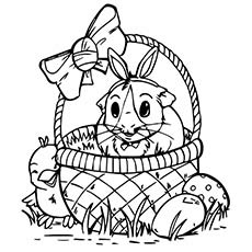 230x230 Top 25 Free Printable Guinea Pig Coloring Pages Online