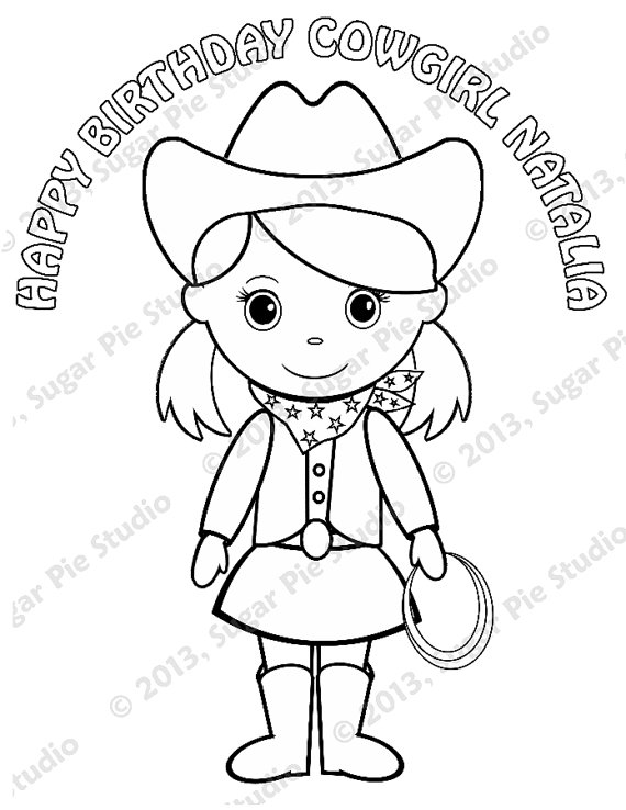 570x738 Pigtails Coloring Pages