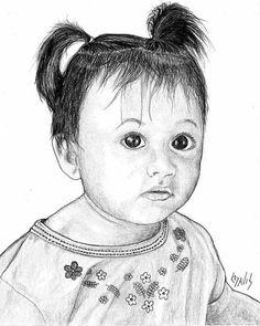 236x295 Title Big Eyes Artist Lew Davis Medium Drawing