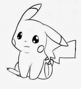 278x302 Resultado De Imagem Para Pikachu Com Bone Para Colorir Dibujos