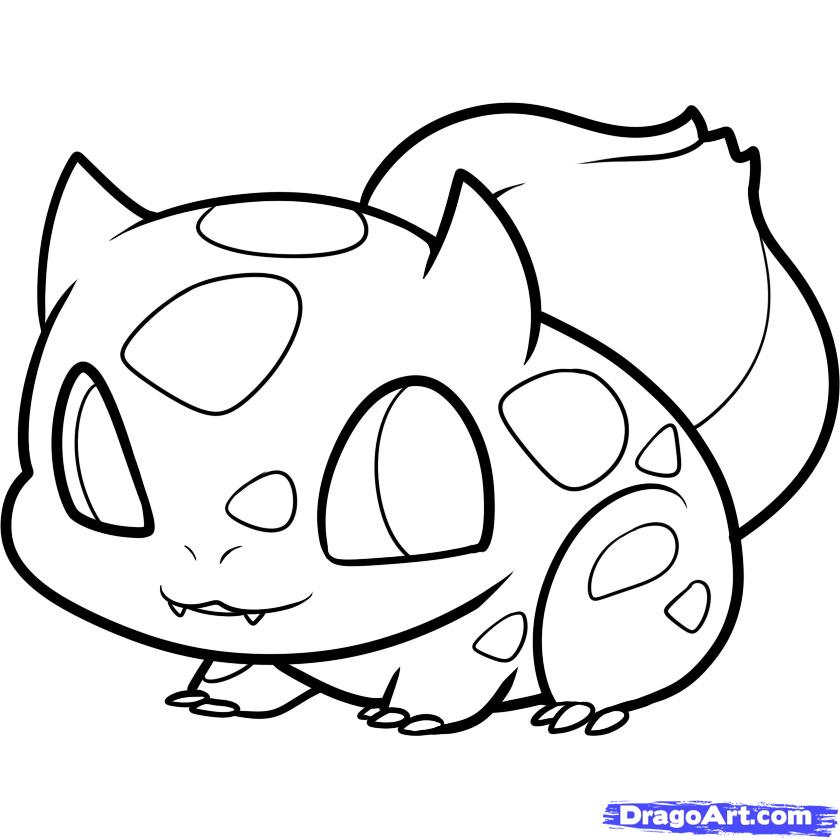 840x840 Coloring Pages Draw Easy Pokemon Coloring Pages Draw Pikachu Easy