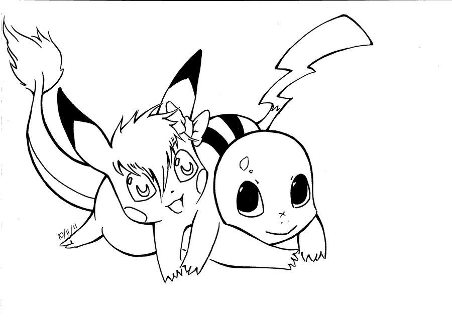 900x654 Pikachu Love By Pikachupika. How To Draw A Cute Baby Pikachu