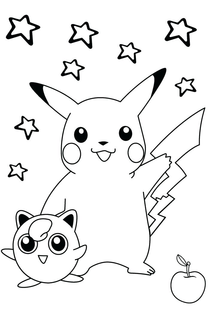 735x1031 Cool Pokemon Coloring Pages Smiling Coloring Pages For Kids