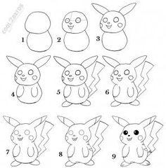 236x240 How To Draw Step By Step Pikachu (11 Steps)