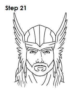 300x388 How To Draw Thor