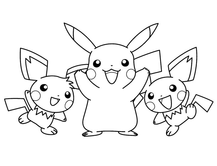 736x564 The Best Pikachu Coloring Page Ideas On Pokemon