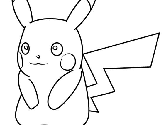 566x425 How To Draw Pikachu Learn How To Draw Pikachu From Pokemon Go