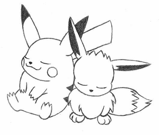Pikachu Images For Drawing at GetDrawings | Free download