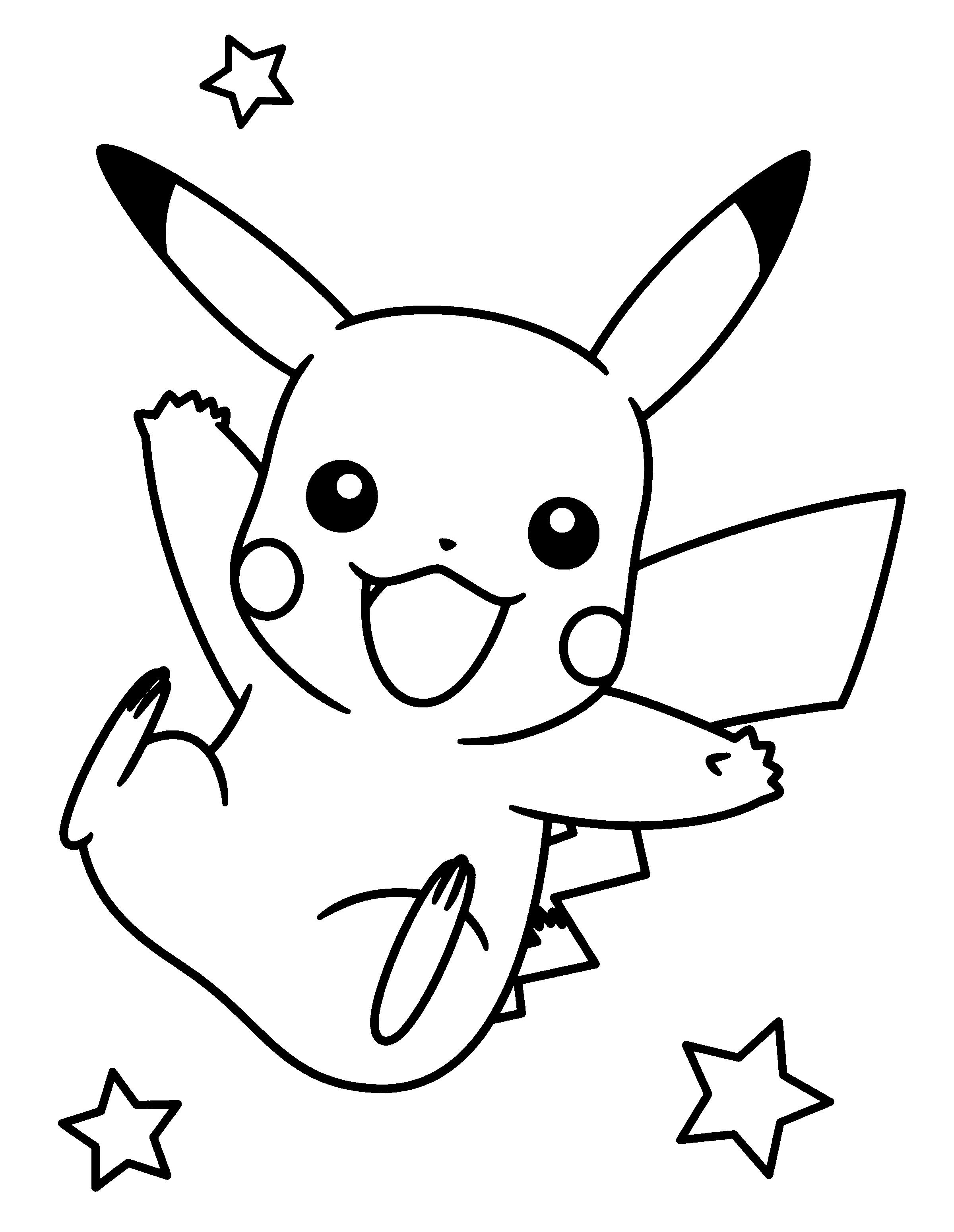 2400x3100 Pikachu Png Black And White Transparent Pikachu Black And White