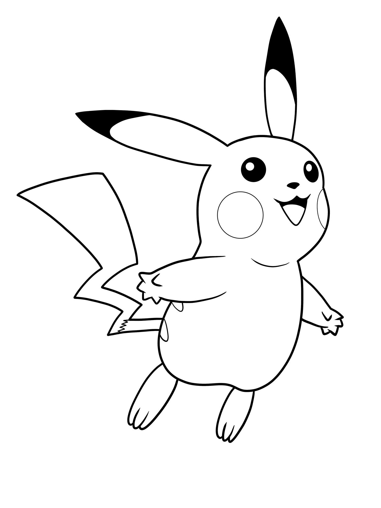 1500x2000 Surprise, Pikachu! Original Pokemon Fan Art [Process Drawing