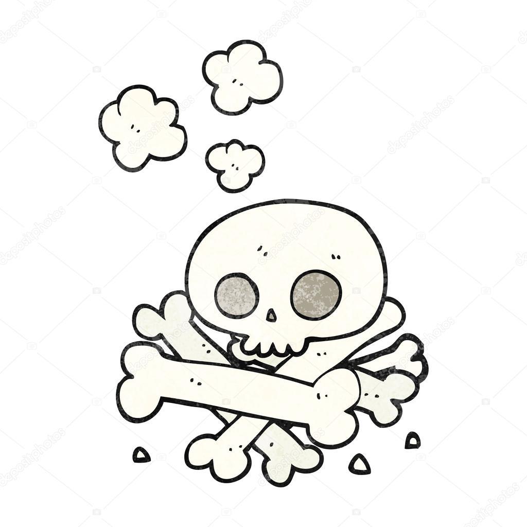 1024x1024 Textured Cartoon Pile Of Bones Stock Vector Lineartestpilot