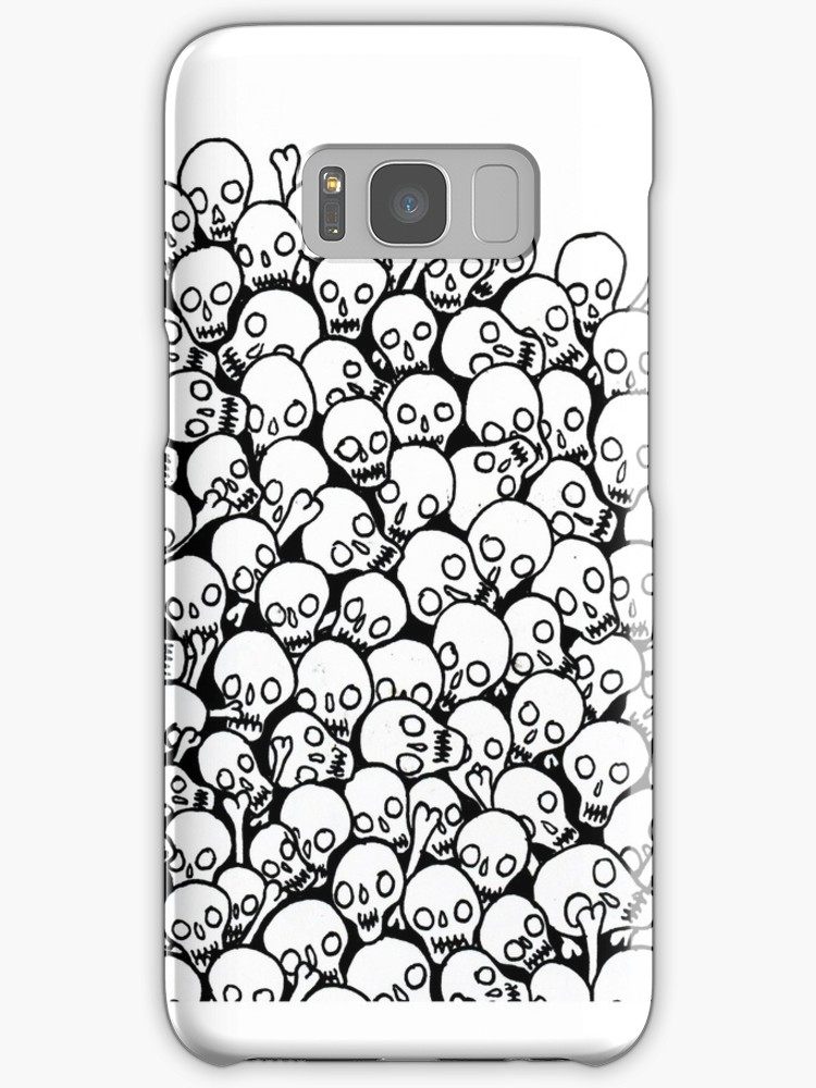 750x1000 Pile Of Skulls Samsung Galaxy Cases Amp Skins By Lissarnoble
